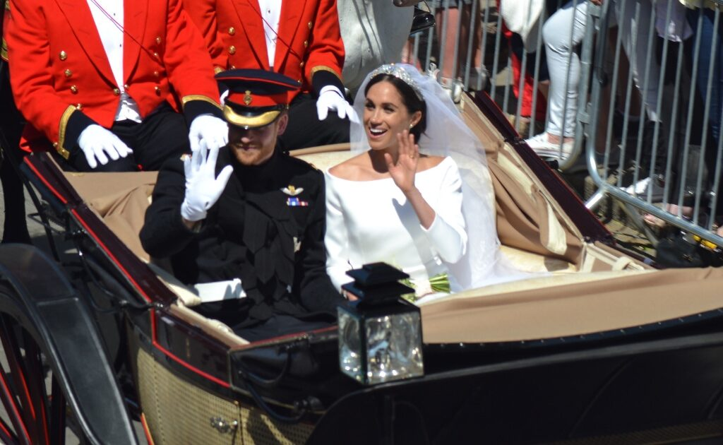 Toomey Family Law blog The Royals hero image Harry and Meagan married